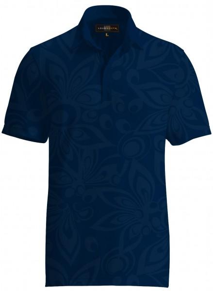 "Loudmouth Men's Tonal Shirt ""Shagadelic Navy"""