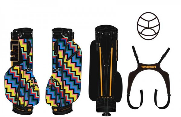 Loudmouth Stand Bag-Steppin'Out