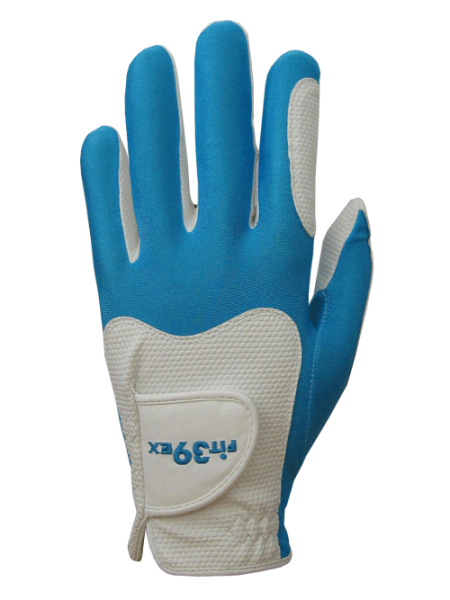 Golf Glove Fit 39 Blue/White
