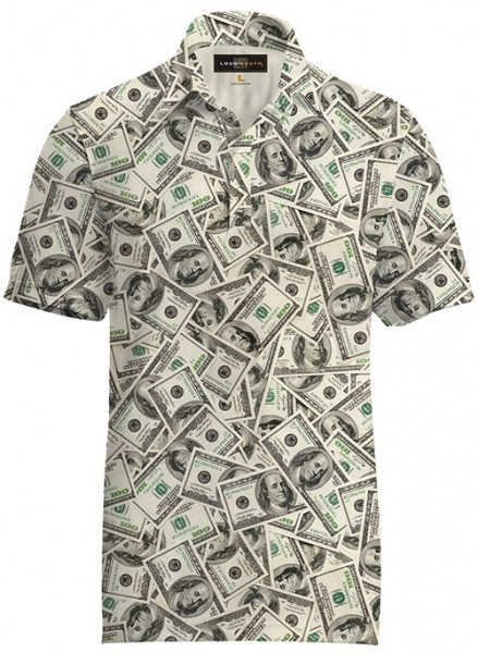 "Loudmouth Fancy Men's Shirt ""Hunnids"""