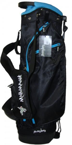 Molhimawk Stand Bag-Wave Blue-Neon Line