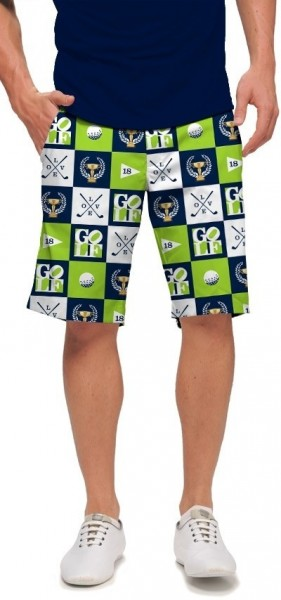 "Loudmouth Men's Golf Short ""I Love Golf StretchTech"""