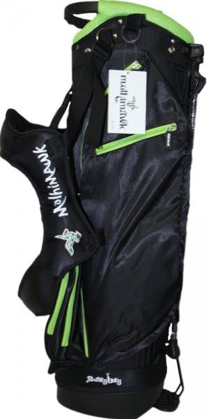 Molhimawk Stand Bag- Moss Green, Neon Line