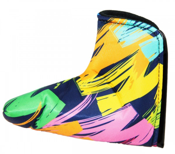"Loudmouth Blade Putter Cover ""Broad Strokes Navy"""