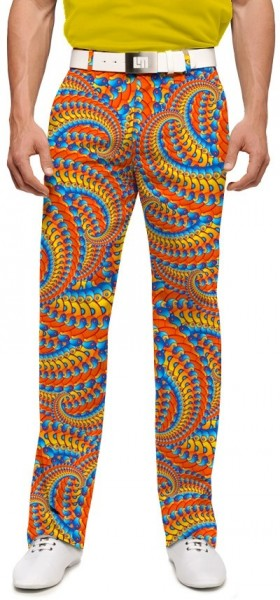 "Loudmouth Men's Golf Pants "" Serpentine StretchTech"""