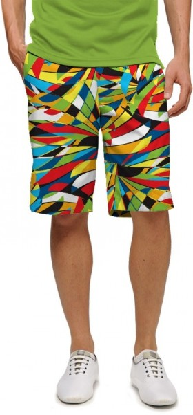 "Loudmouth Men's Golf Short ""Toucan StretchTech"""